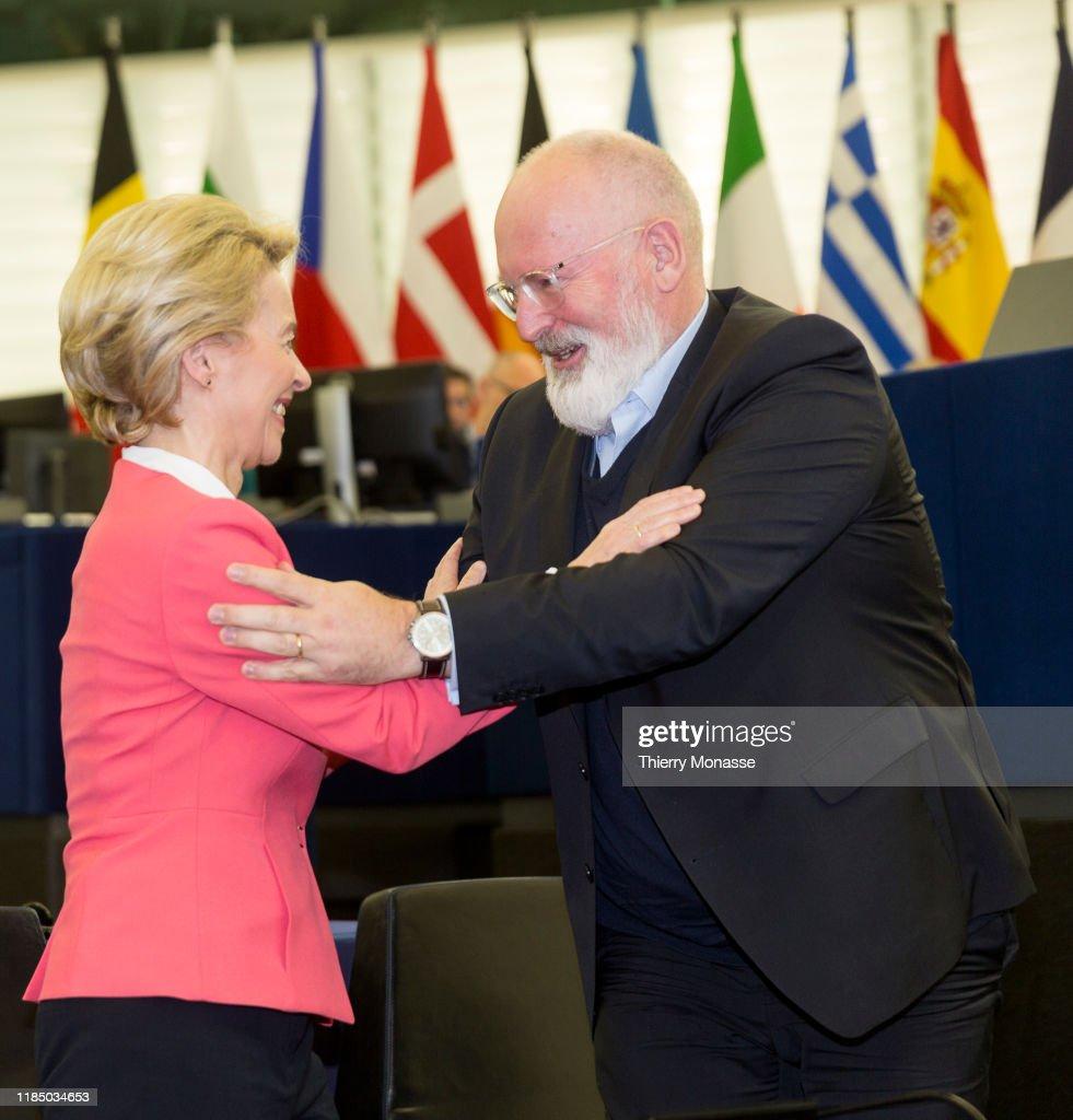 European Parliament Votes On New Commissioners : Nieuwsfoto's