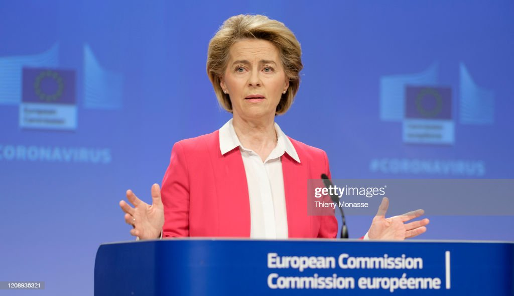 EU  Commission Mobilises All Of Its Resources To Protect Lives And Livelihoods : News Photo