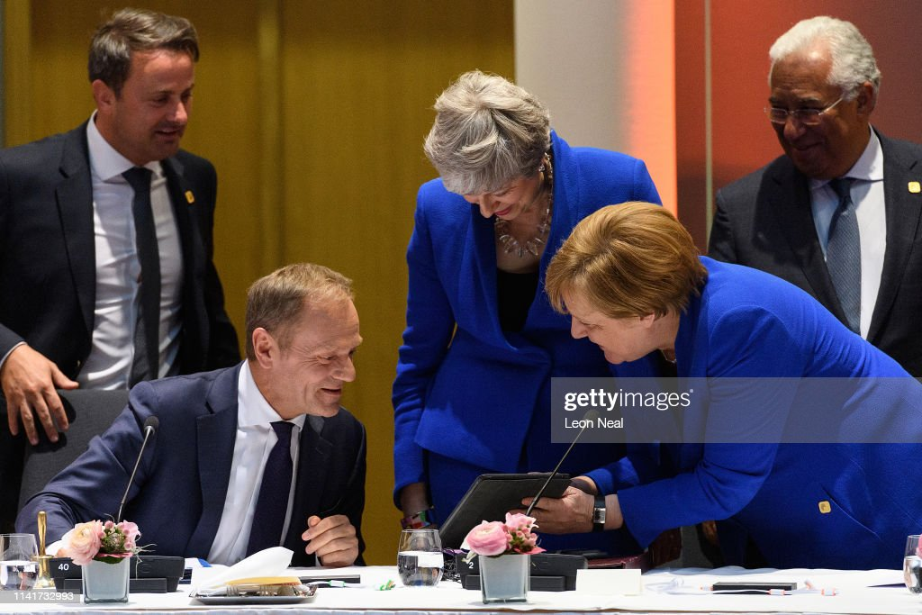 President of the European Council Donald Tusk, British Prime