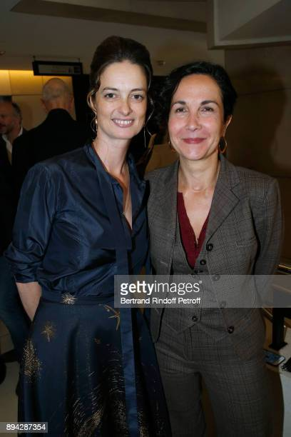President of the Event Angelique Motte and Director of the Academy of the Paris Opera Myriam Mazouzi attend the 32th 'Reve d'Enfants' Charity Gala at...
