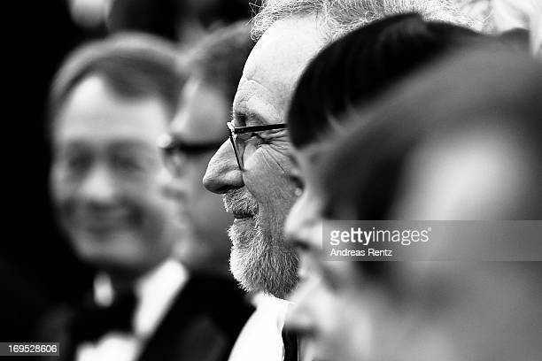 President of the Feature Film Jury director Steven Spielberg attends the 'Zulu' Premiere and Closing Ceremony during the 66th Annual Cannes Film...