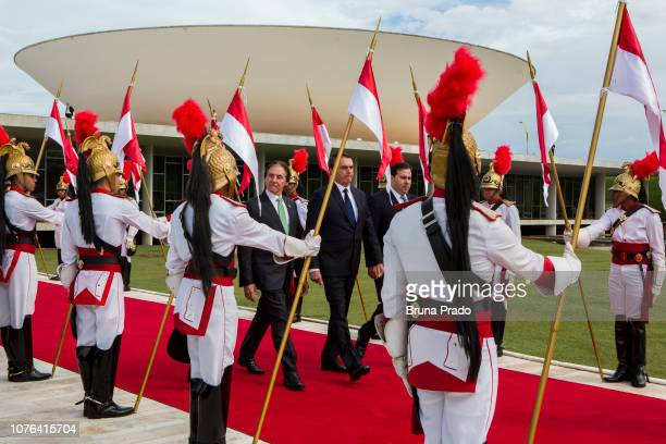 President of the Federal Senate Eunício Oliveira Newly swornin President of of Brazil Jair Bolsonaro President of the Chamber of Deputies of Brazil...