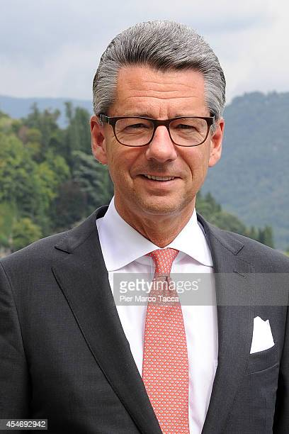 President of the Federation of German Industries Ulrich Grillo attends the Ambrosetti International Economy Forum at Villa d'Este Hotel on September...