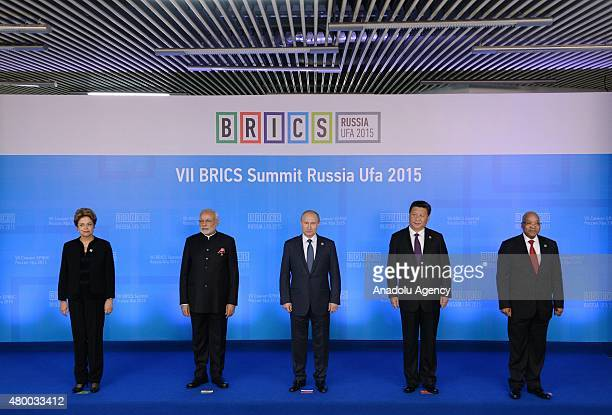 President of the Federative Republic of Brazil Dilma Rousseff Prime Minister of the Republic of India Narendra Modi Russian President Vladimir Putin...