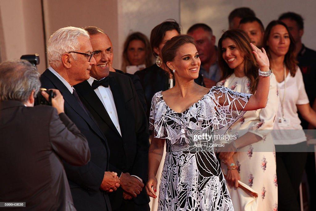 'Jackie' Premiere - 73rd Venice Film Festival