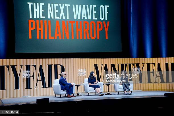 President of the Ford Foundation Darren Walker cofounder of the Chan Zuckerberg Initiative Priscilla Chan and president of the Goldman Sachs...