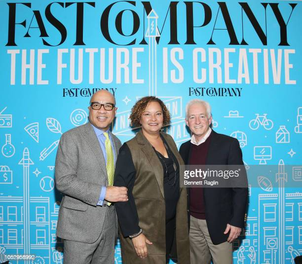 President of the Ford Foundation Darren Walker NP of Environment Policy and Social Initiatives for Apple Lisa Jackson and CEO Mansueto Ventures Eric...