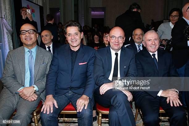 "President of the Ford Foundation, Darren Walker, Palais de Tokyo President Jean De Loisy, Director of ""Musee d'Art Moderne de la Ville de Paris"",..."