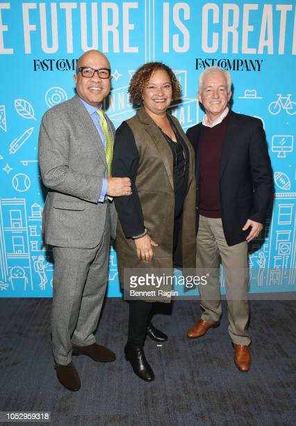 President of the Ford Foundation Darren Walker VP of Environment Policy and Social Initiatives for Apple Lisa Jackson and CEO Mansueto Ventures Eric...