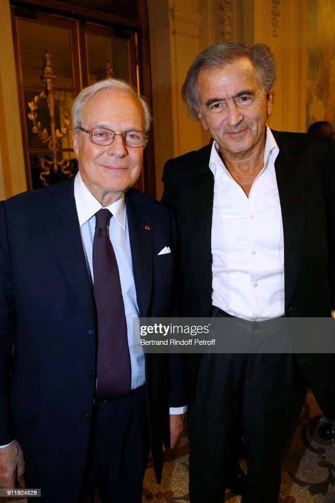 Tribute To ELie Wiesel By Maurice Levy X Publicis Group : News Photo