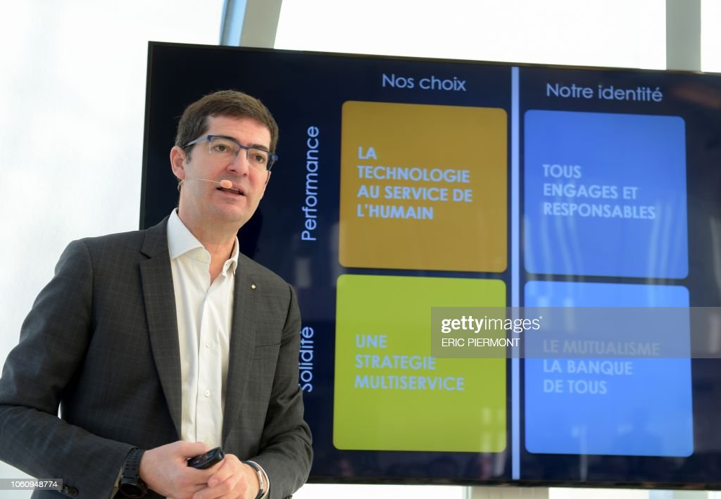 President Of The French Bank Group Credit Mutuel Alliance