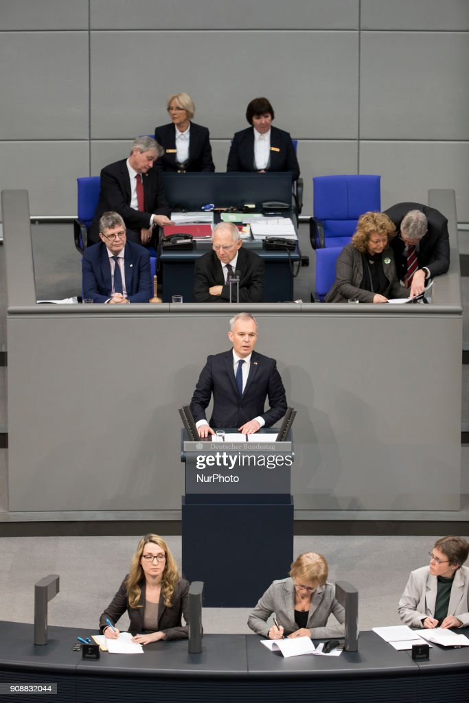 Special session in Bundestag for the 55th Anniversary of the Elysee Treaty