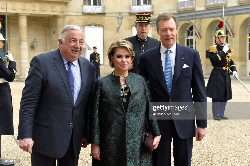 Official Visit OF Grand-Duc Henri Of Luxembourg and Grande-Duchesse Maria Teresa Of Luxembourg : Day Three