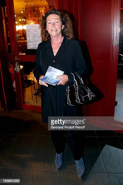 President of the Gala the Lady of the Sea Florence Arthaud attending 'La Dame De La Mer' Gala play to benefit Care Humanitarian Organization held in...
