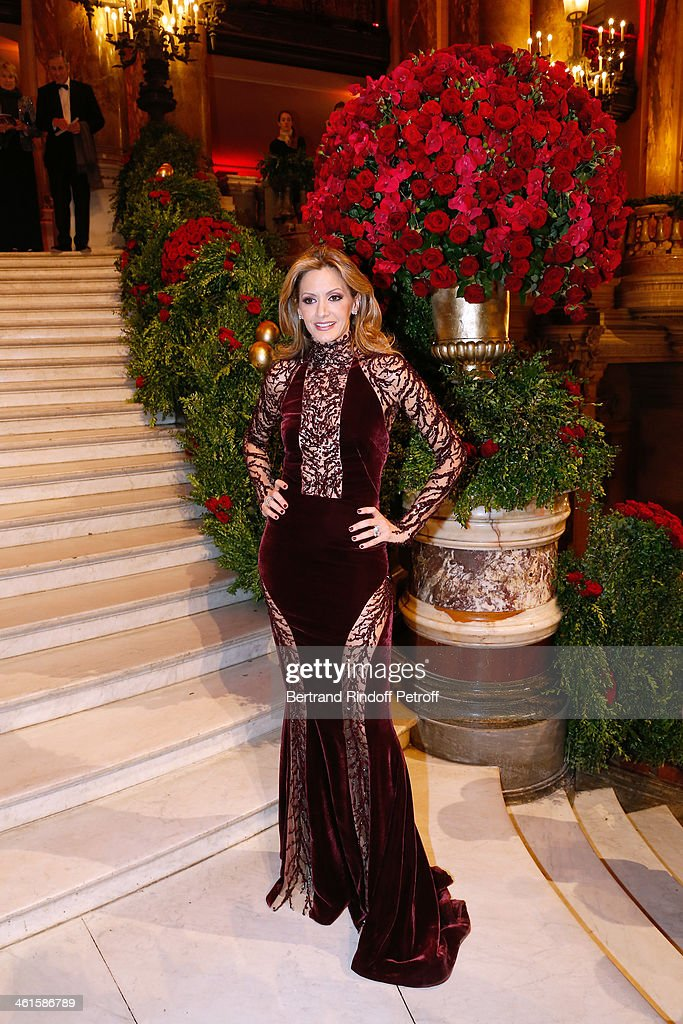 Arop Charity Gala At Opera Garnier : News Photo