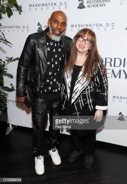 President of the Grammys DC Chapter Von Vargas and Diane Blagman attend The Recording Academy Washington DC Chapter's Intersection of Music Sports...