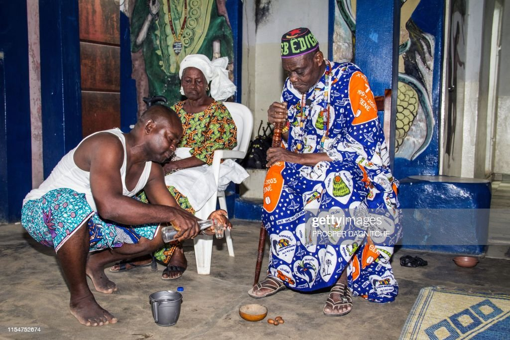 President of the indigenous religions of Benin Dah Gbediga