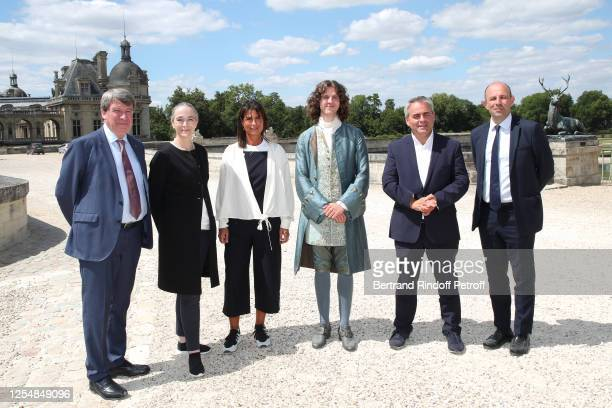 President of the Institut de France Xavier Darcos President of France Television Delphine Ernotte director of the National Fiction of France...