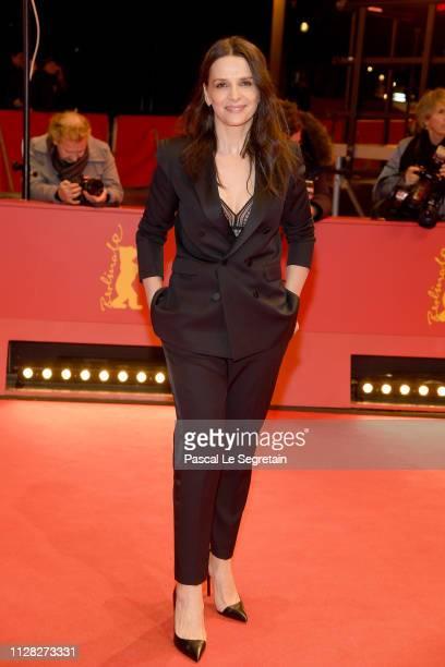 President of the International Jury Juliette Binoche attends the Grace A Dieu premiere during the 69th Berlinale International Film Festival Berlin...