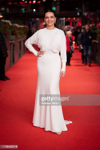 President of the International Jury Juliette Binoche attends the premiere for the screening of the Netflix film 'Elisa Y Marcela' during the 69th...