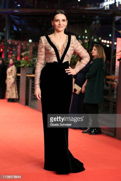 President of the International Jury Juliette Binoche attends the The Kindness Of Strangers premiere during the 69th Berlinale International Film...