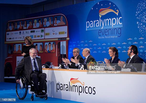 President of the International Paralympic Committee Philip Craven President of the Spanish Olympic Committee Alejandro Blanco Bravo Spain's Minister...