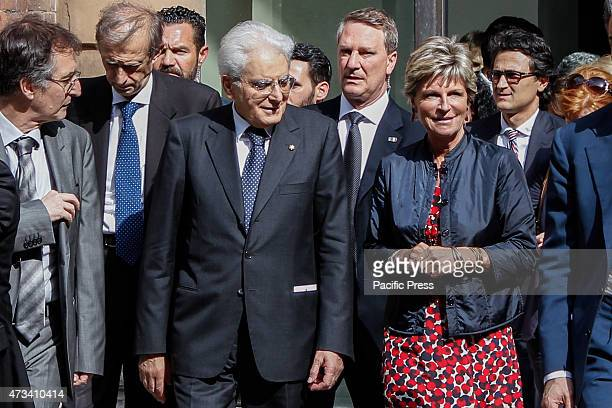 President of the Italian Republic Sergio Mattarella went to see the Egyptian Museum accompanied by Evelina Christillin