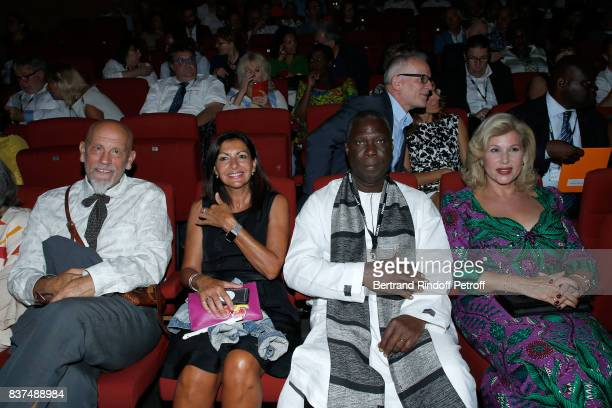 President of the Jury actor John Malkovich Mayor of Paris Anne Hidalgo Minister of Culture of 'Cote d'Ivoire' Maurice Kouakou Bandaman and First lady...