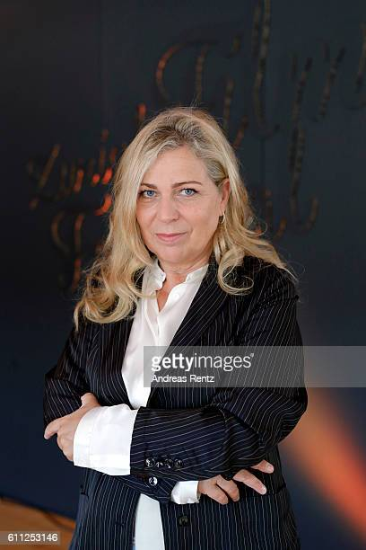 President of the jury for international movie Lone Scherfig poses for photographs at the photocall of the jury during the 12th Zurich Film Festival...