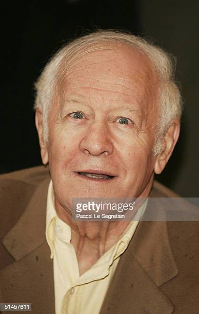 President of the Jury, Jacques Chancel attends a photocall on the third day of the 15th Dinard Festival Of British Film on October 9, 2004 in Dinard,...