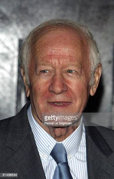 President of the Jury Jacques Chancel attends the opening ceremony of the 15th Dinard Festival Of British Film on October 7 2004 in Dinard France The...