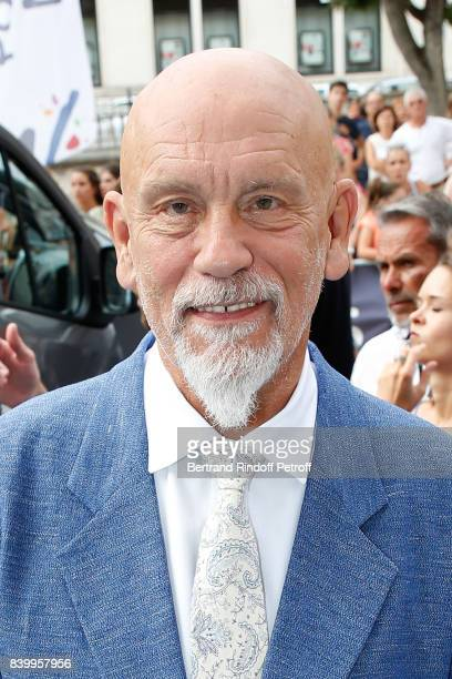 President of the Jury John Malkovich attends the 10th Angouleme FrenchSpeaking Film Festival Closing Ceremony on August 27 2017 in Angouleme France