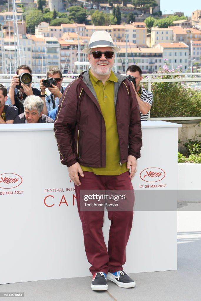 President of the jury Pedro Almodovar, attends the Jury photocall during the 70th annual Cannes Film Festival at Palais des Festivals on May 17, 2017 in Cannes, France.