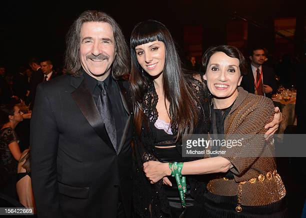 President of The Latin Recording Academy Luis Cobos and singer Mala Rodriguez during the 2012 Person of the Year honoring Caetano Veloso at the MGM...