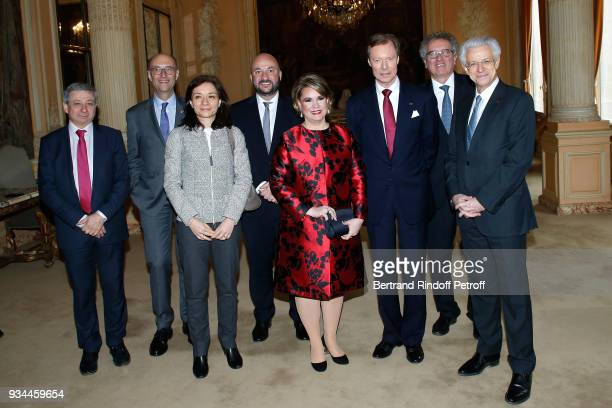 President of the Luxembourg Chamber of Commerce and Industry Michel Wurth, Secretary of State to the Minister of the Economy and Finance of France...