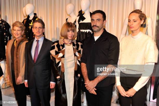President of the Metropolitan Museum of Art Emily Rafferty Director of the Metropolitan Museum of Art Tom Campbell Editor of Vogue Anna Winter...