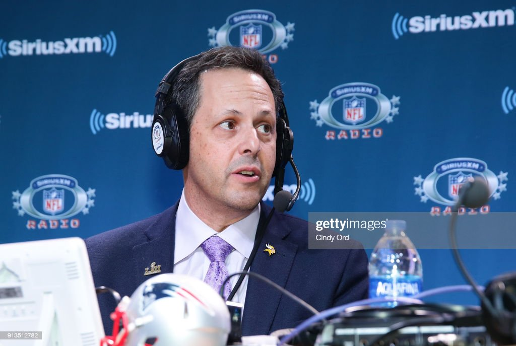 President of the Minnesota Vikings Mark Wilf attends SiriusXM at Super Bowl LII Radio Row at the Mall of America on February 2, 2018 in Bloomington, Minnesota.