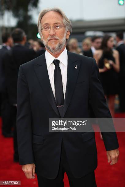 President of the National Academy of Recording Arts and Sciences Neil Portnow attends the 56th GRAMMY Awards at Staples Center on January 26 2014 in...