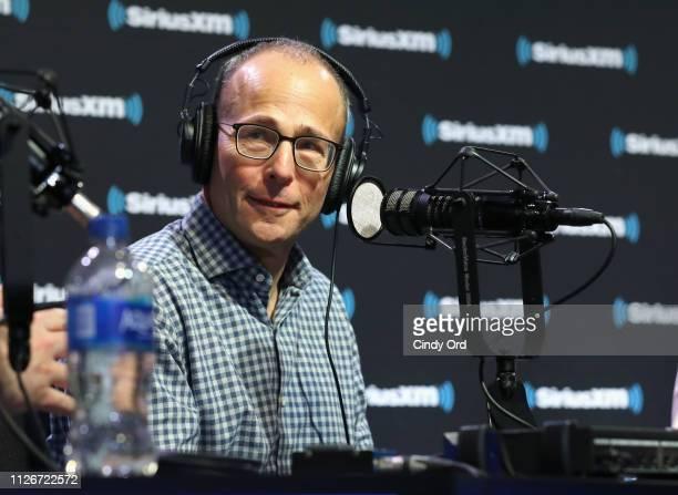 President of the New England Patriots Jonathan Kraft attends SiriusXM at Super Bowl LIII Radio Row on February 01 2019 in Atlanta Georgia