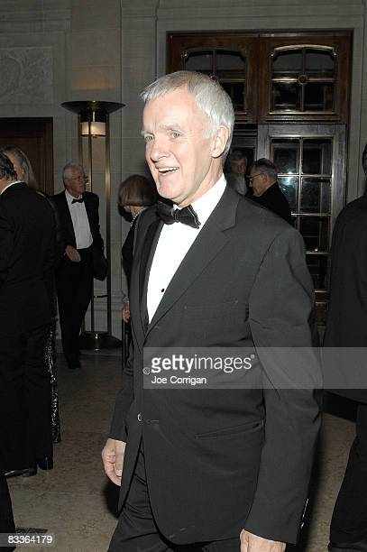President of The New School Bob Kerrey attends The Frick Collection Autumn dinner at The Frick Collection on October 20 2008 in New York City