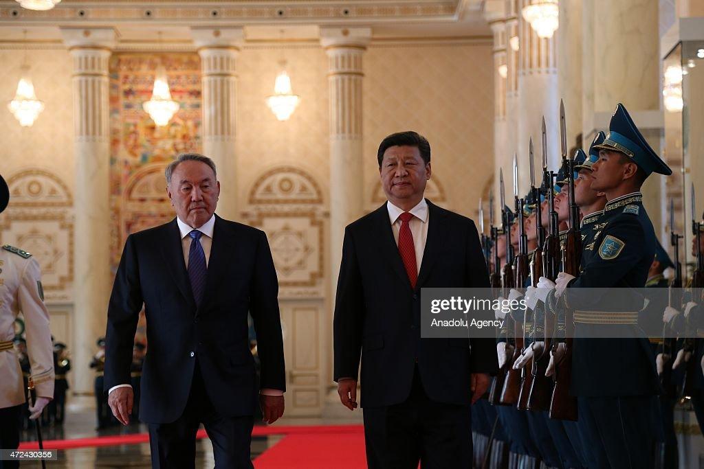 Chinese President Xi Jinping in Kazakhstan : News Photo
