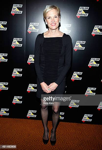 President of the Planned Parenthood Federation of America Cecile Richards attends ColorofChangeorg 10 Year Anniversary Gala at Gotham Hall on October...