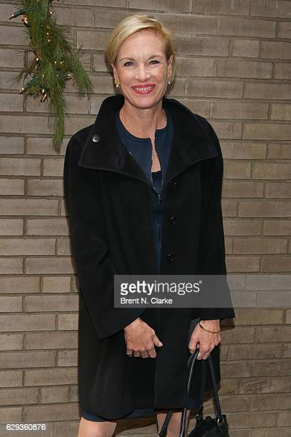 President of the Planned Parenthood Federation of America Cecile Richards attends the 2016 Hearst 100 held at Michael's Restaurant on December 12...