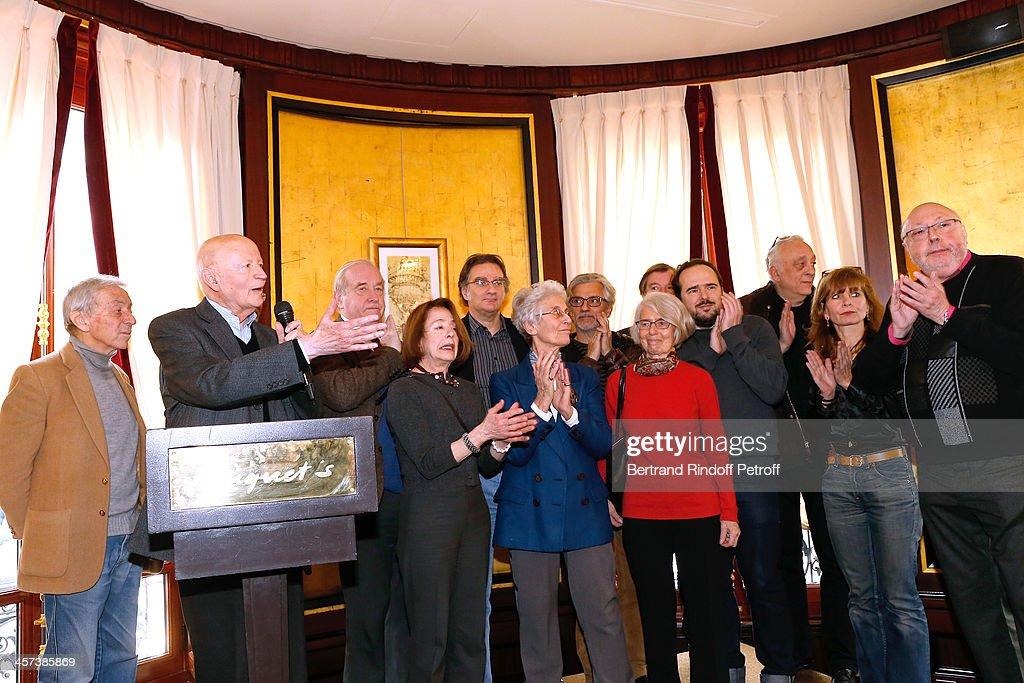 71st 'Prix Louis Delluc': Award Ceremony At the Fouquet's : Photo d'actualité