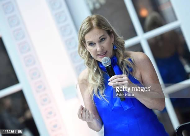 President of The Recording Academy Deborah Dugan attends Billboard Women's Luncheon In Honor Of Deborah Dugan at Spago on October 11 2019 in Beverly...