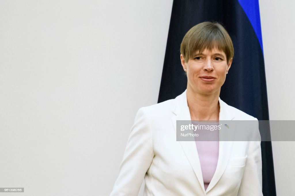 President of the Republic of Estonia Kersti Kalyulaid
