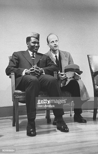 President of the Republic of Guinea Sekou Toure during a visit to the US
