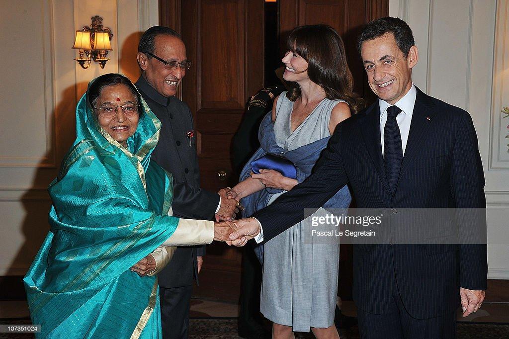 French President Nicolas Sarkozy And Carla Bruni-Sarkozy Visit India - Day 3