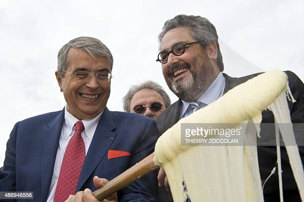 President of the RhoneAlpes region and member of the French leftwing Socialist Party JeanJack Queyranne who is launching his campaign in...