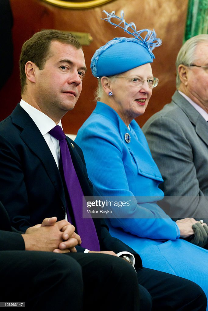 Danish State Visit to The Russian Federation - Day 1 : News Photo